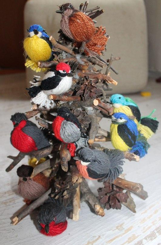Как сделать птицу своими руками мастер класс
