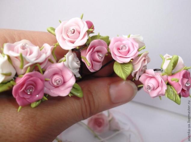 Как сделать своими руками розу из полимерной глины