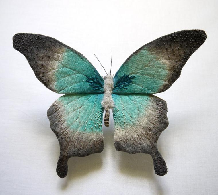 Текстильные шедевры, или Бабочки как источник вдохновения, фото № 36