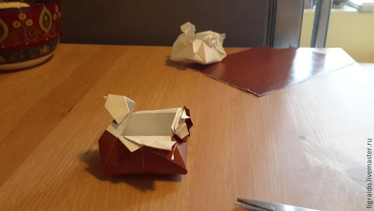 Оригами: пасхальная курочка, фото № 27