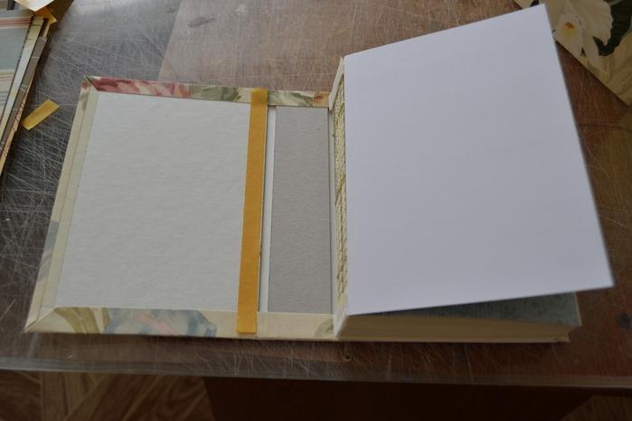 Блокноты своими руками в бумажной обложке