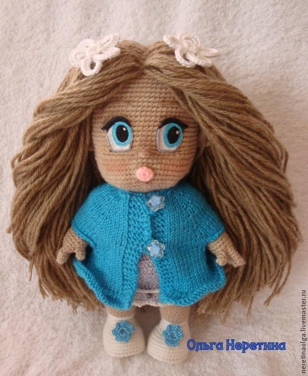 Как сделать волосы вязаной кукле мк - Ross-plast.ru