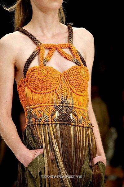 Платье из веревок своими руками