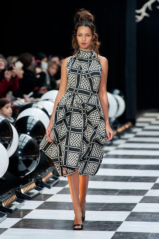Franck Sorbier Haute Couture весна-лето 2014, фото № 8