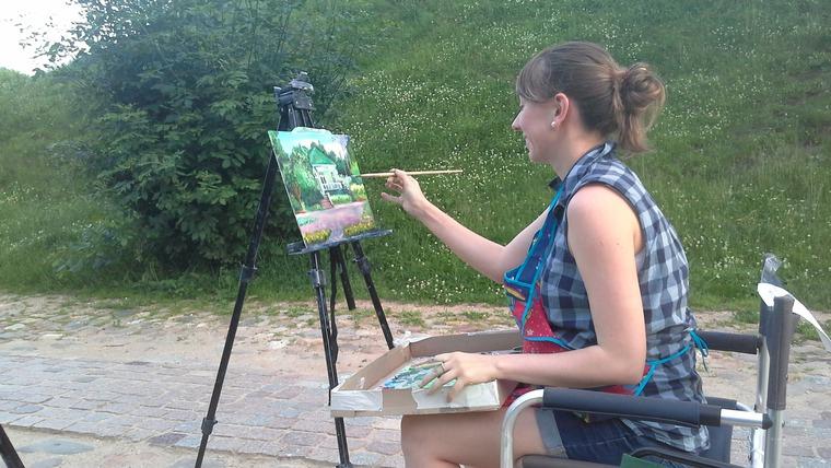 живопись, живопись мастихином, рисование для начинающих, пейзаж маслом, пейзажи