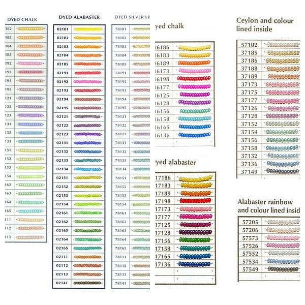 Вышивка бисером карта цветов