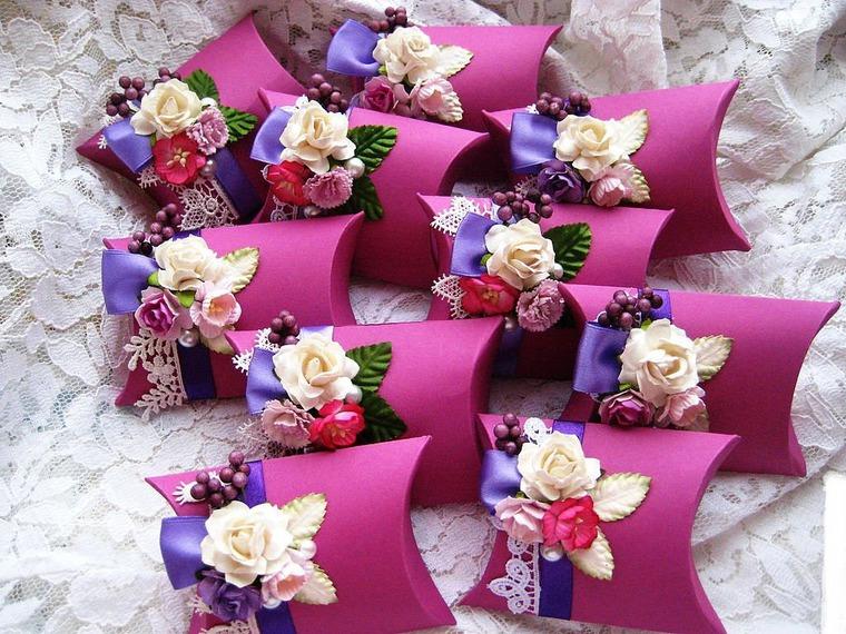 Идеи для подарков гостям на свадьбу своими руками