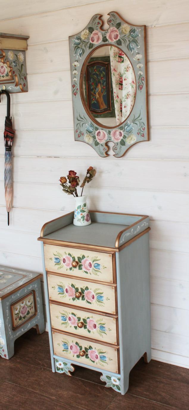 мебель с росписью