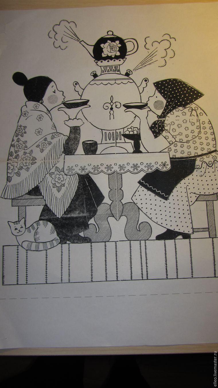 Как сделать панно в технике лоскутного шитья