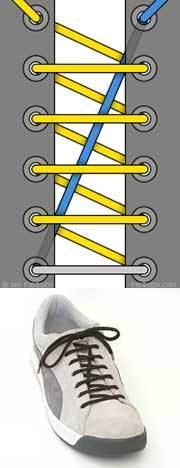 Оригинальные способы шнуровки ботинок. Виды и способы шнуровки., фото № 5