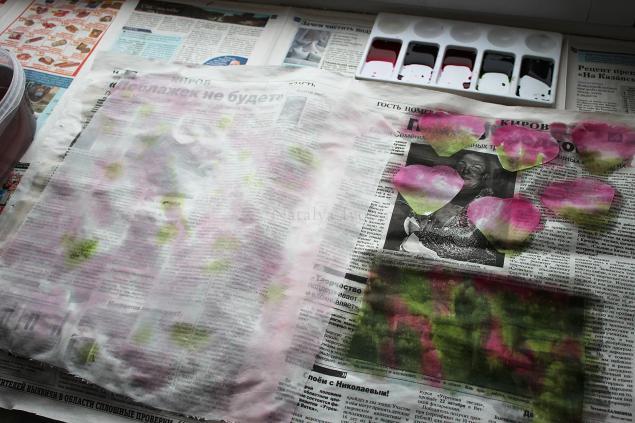 создание цветов