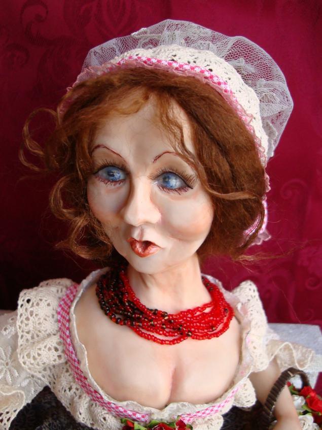 авторская кукла, история