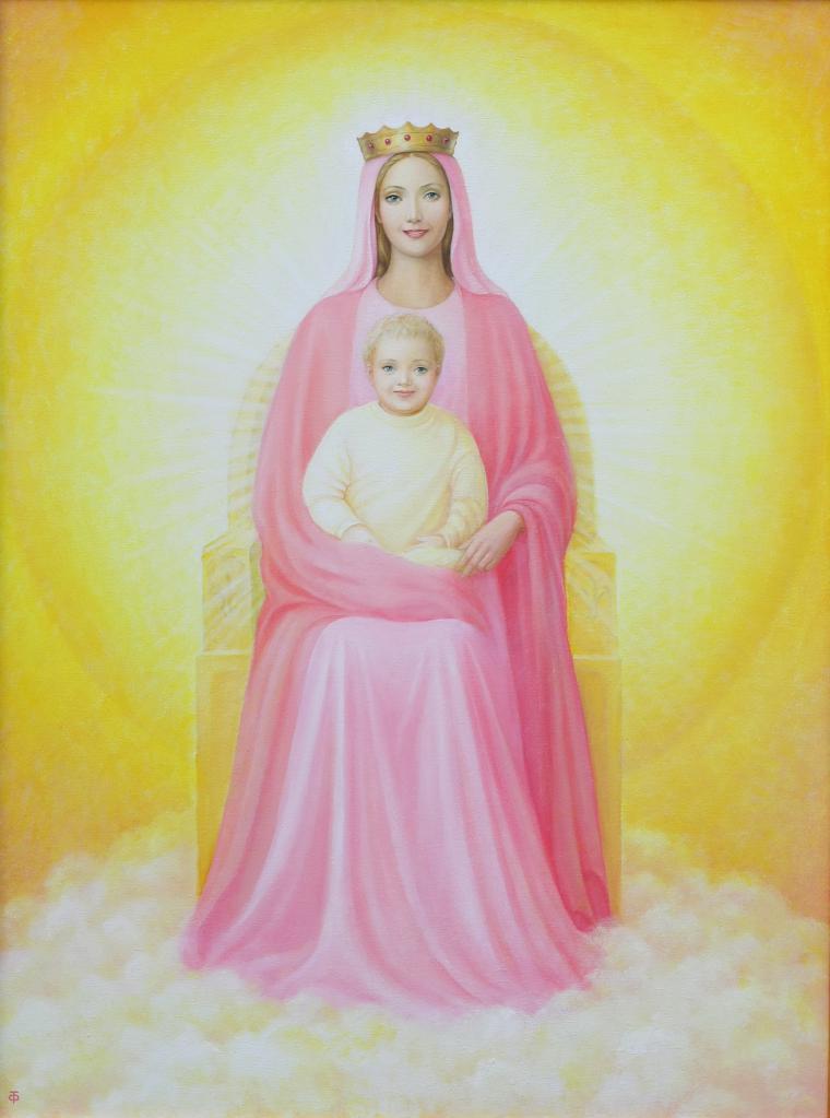 мире известны картинки мать мария получил