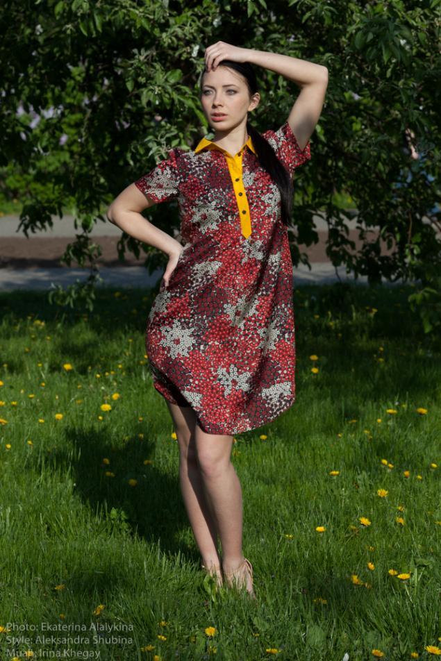 платье рубашка, платье на заказ, платье с рукавом, дизайнерская одежда