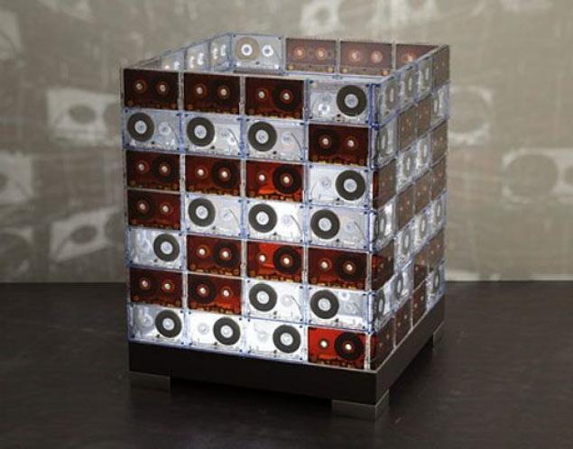 Поделки из кассетной пленки