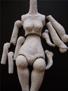 Папье маше своими руками кукла