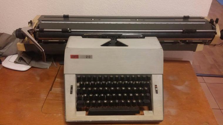швейная машинка, печатная машинка