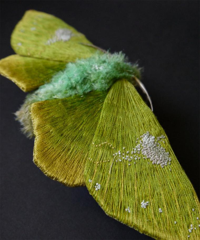 Текстильные шедевры, или Бабочки как источник вдохновения, фото № 26