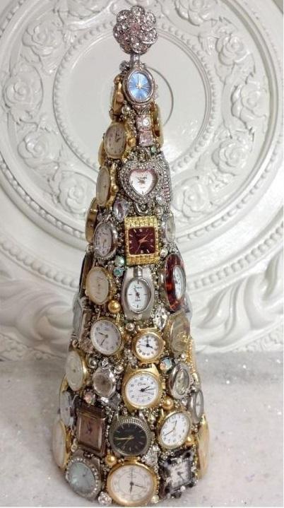 новогодний декор, новогодняя ёлка