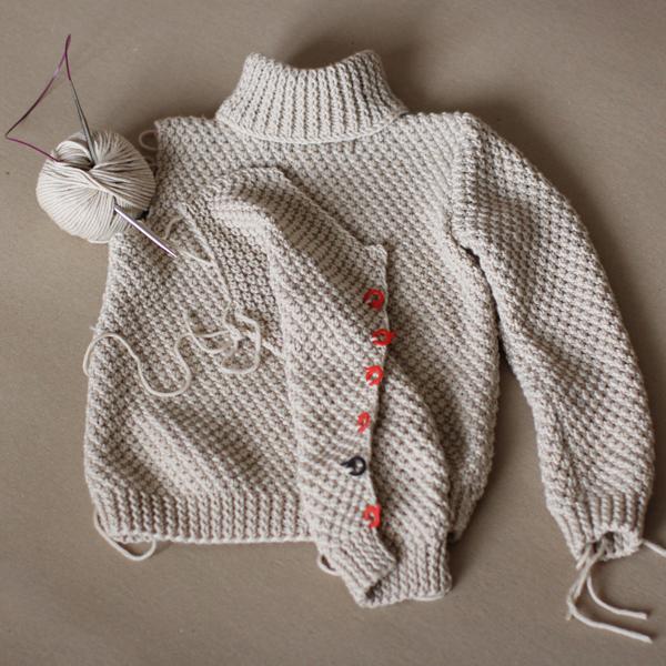 узор путанка, свитер