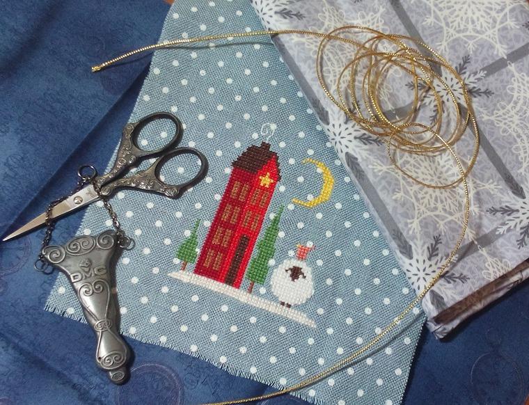 Вышивка крестом на ткани в горошек: публикации и мастер-классы – Ярмарка Мастеров