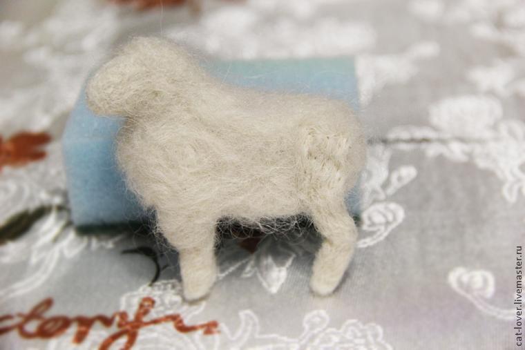 мастер класс овечки