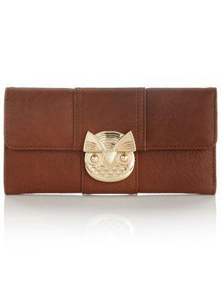 Ola Owl Lock Wallet Pinned by <a href=
