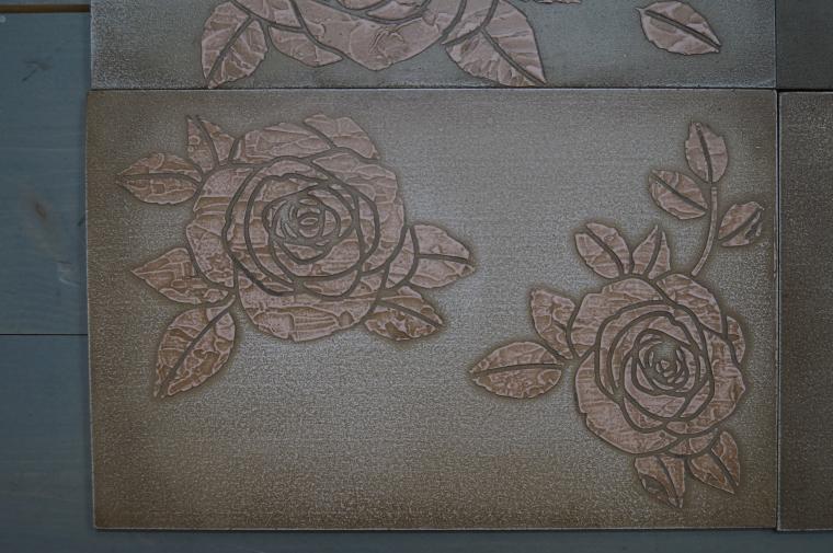 Тиснение орнамента на мебели. Мастерская Натальи Строгановой. Отчет. Часть 2, фото № 7