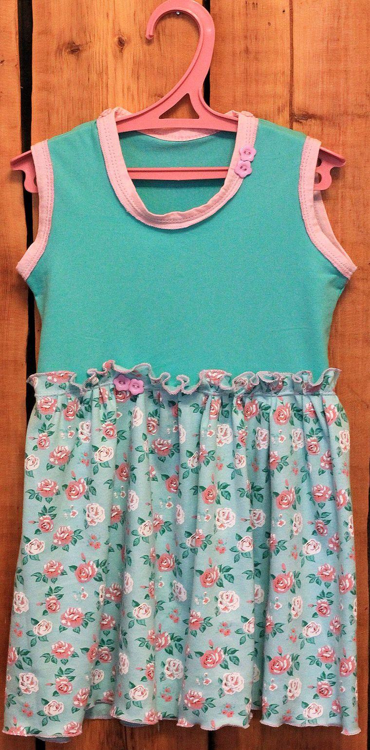 бурда 2016, платье для девочки, трикотаж, детское платье, оверлок janome, роликовый шов, оверлочный шов