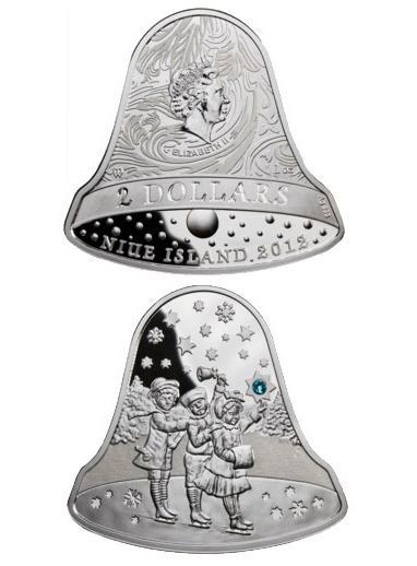 колокол, колокольчики, монеты