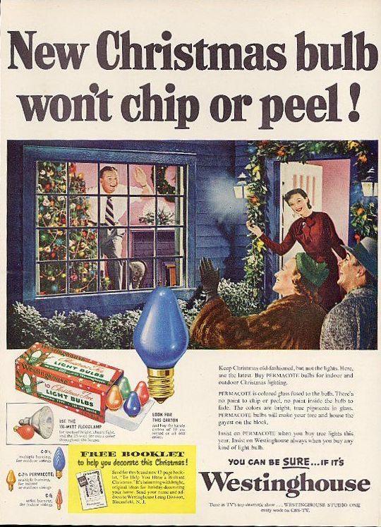 Новогодняя реклама Vintage/1951 -1956 включительно, фото № 23