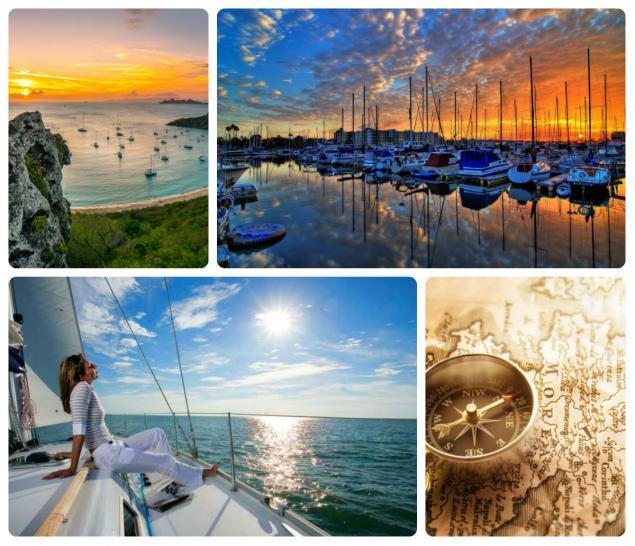 Брошь Sunrise & Sea, фото № 1