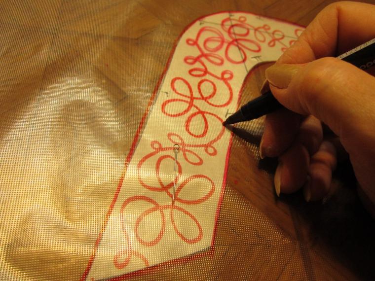 Вышивка на швейной машине мастер класс