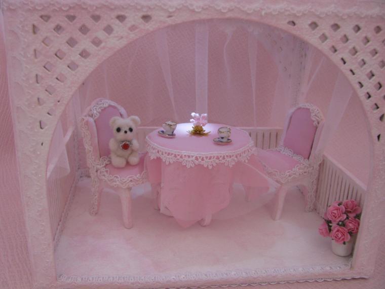 беседка для кукол, кукольный дом