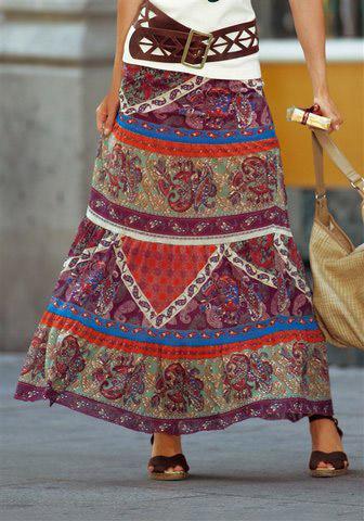 длинное платье, энергия длинной юбки