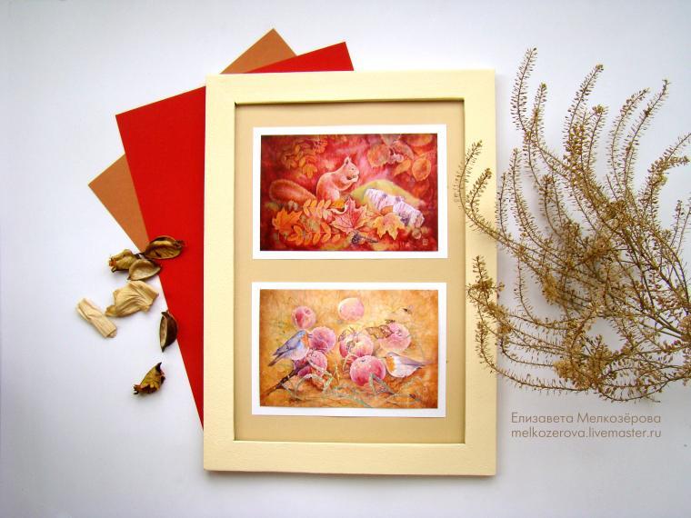 открытка, подарок подруге