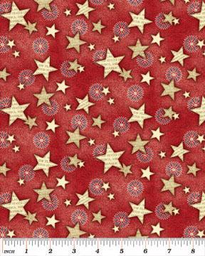 американский флаг, ткани для пэчворка