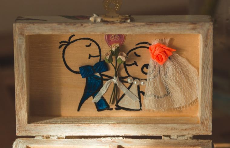 свадьба в бабочках