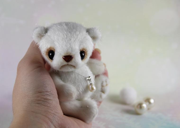 мастер-класс, миниатюра, панда