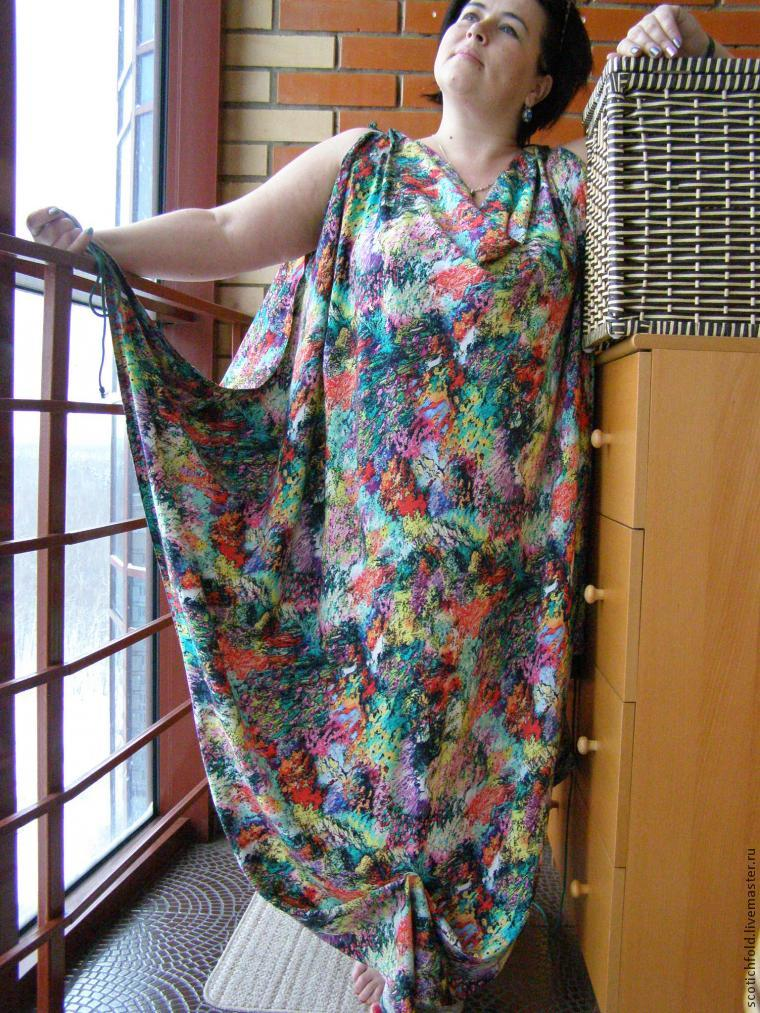 Шьём летнее платье-сарафан за полчаса!