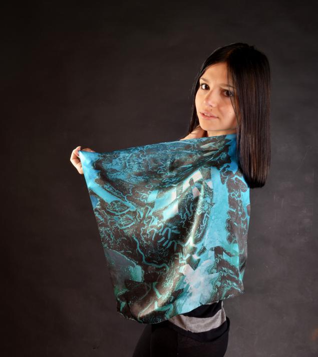 шелковые платки, модные принты