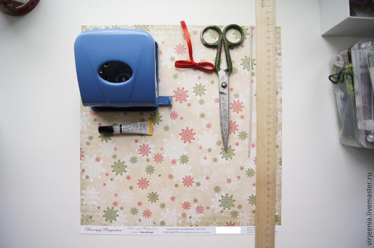 Make a bag for Christmas gifts