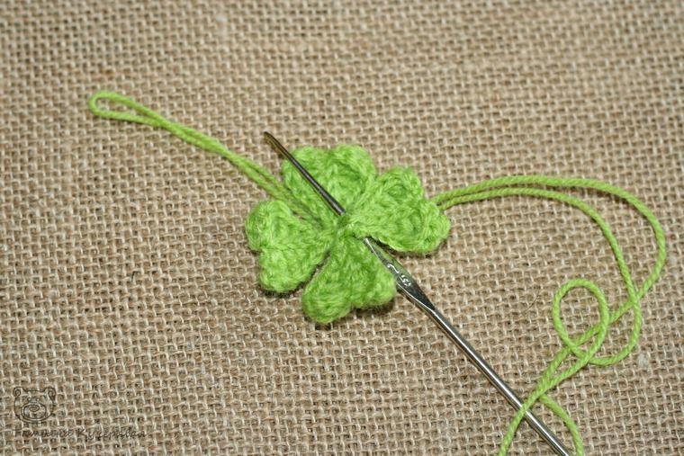 Crochetting a Four Leaf Clover, фото № 10