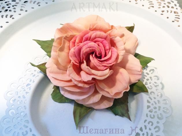 обучение, цветы из фоамирана, розы из фоамирана, мастер-классы