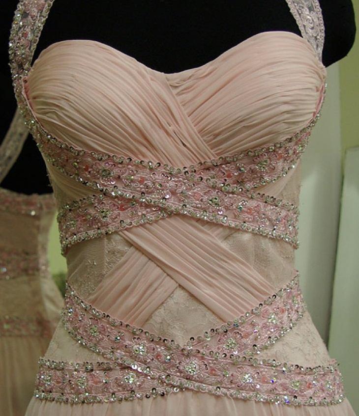 Как сделать драпировки на платьях