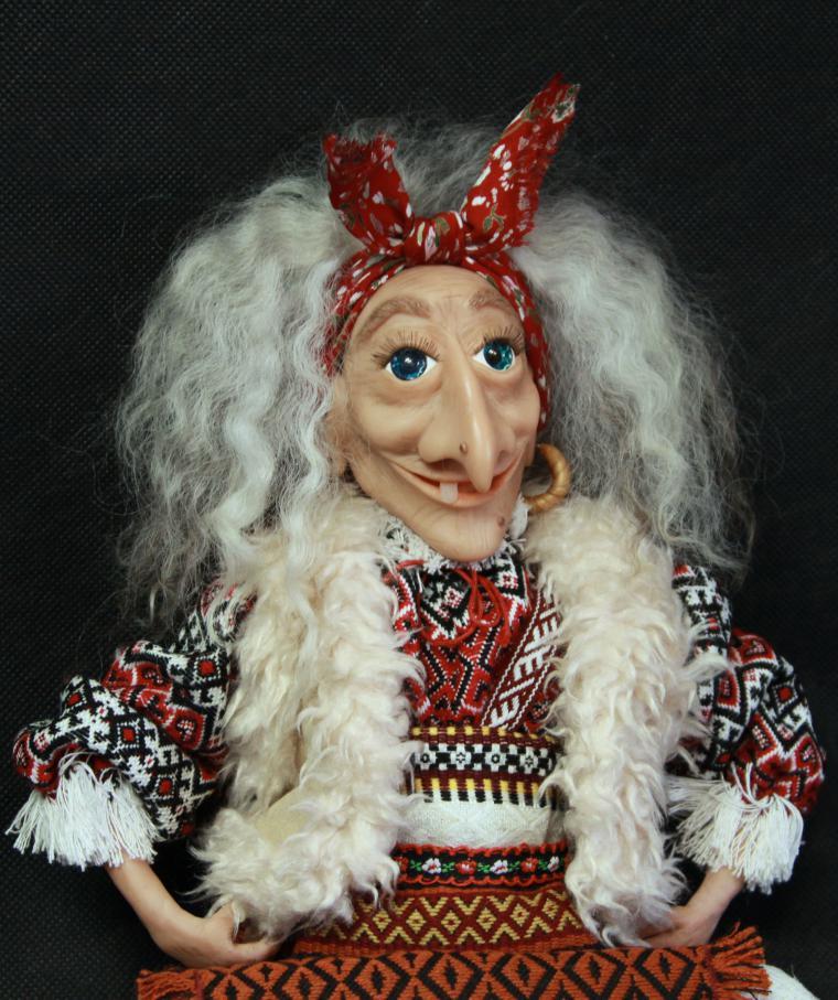 кукла ручной работы, костюм