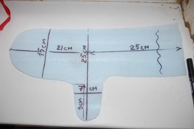 Как сделать шаблон для перчаток валяние 136