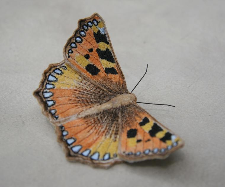 Текстильные шедевры, или Бабочки как источник вдохновения, фото № 11