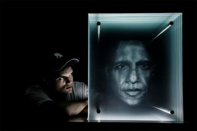 Кто делал фото на стекле