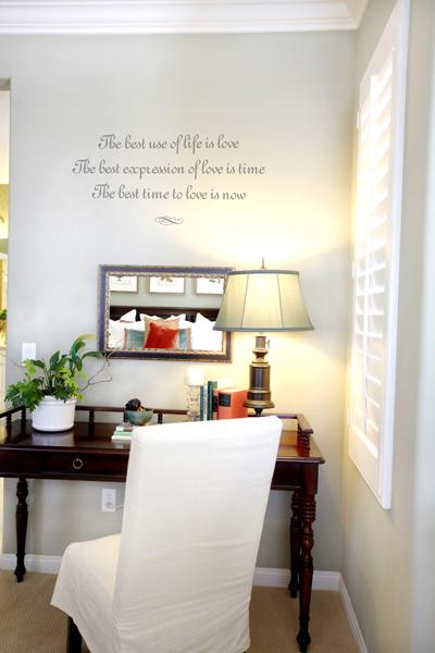 Мысли на виду! (или 60 идей декора стен с помощью слов, букв и цифр), фото № 52